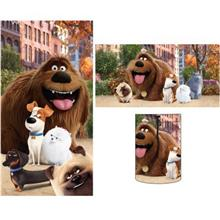 [From USA]Secret Life of Pets 'My Cute Pets' Sleeping Bag with Bonus Tote-Excl