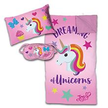 [From USA]Jay Franco Nickelodeon JoJo Siwa 3 Piece Slumber Set Pink (Pink)