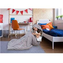 [From USA]Chic Home Oscar Sleeping Bag with Cat Ear Hood Pinch Pleat Design wi