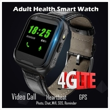 i6 Adult 4G LTE Video Call GPS Wifi LBS Heart Rate Anti Lost SOS Smart