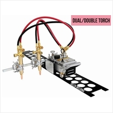 Double / Dual torch flame oxy cutting machine Malaysia