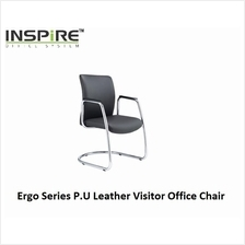 Ergo Series P.U Leather Visitor Office Chair