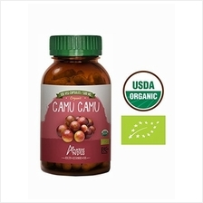 [From USA] Organic Camu camu Powder Capsules - 100 Pills * 500 mg - Supplement
