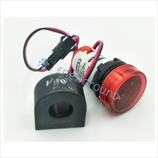AC voltage sensor and current transformer (With display, red)