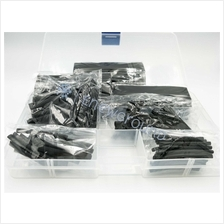 Heat shrink tube kits (127 PCS, Black)