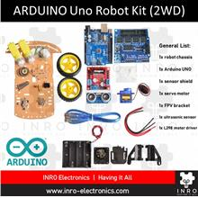Arduino Uno R3 Tracking  & Obstacle Avoidance Smart Robot Chassis (2WD)