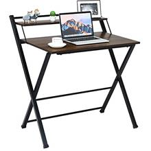 [From USA]Tangkula Folding Computer Desk Space-Saving Home Office Desk Working
