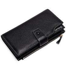 [USA Shipping]BOSTANTEN Womens Wallet Genuine Leather Wallets Large Capacity C