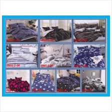 800 Thread Count Korea Design 2 IN 1 Single size Fitted Bedsheet