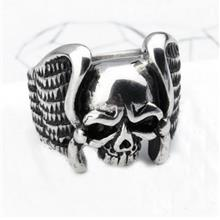 Vintage Skull & Bones Ring For Men