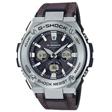 100% CASIO G SHOCK GST-S330L-1A  Tough leather material G-SHOCK GSTS3