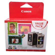 GENUINE CANON PG-40 + CL-41 COMBO VALUE PACK INK CARTRIDGE