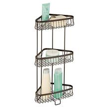 [From USA]iDesign York Metal Wire Corner Standing Shower Caddy 3-Tier Bath She