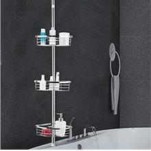 [From USA]Tangkula Tension Corner Shower Caddy Rustproof Stainless Steel Showe