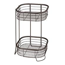 [From USA]iDesign Forma Free Standing Bathroom or Shower Storage Shelves for T