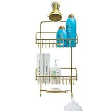 [From USA]Better Houseware Extra Large Shower Caddy - Gold (Gold)