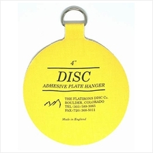 [USA Shipping]Flatirons Disc - Invisible English Disc - Adhesive Plate Hanger
