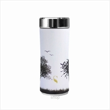 SWANZ 360ml Earth Crown Collection Porcelain Tumbler (With Strainer) - SY-025E
