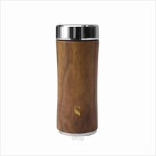 SWANZ 360ml Wood Crown Collection Tumbler (With Strainer) - SY-025WD