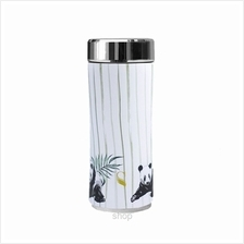 SWANZ 360ml Panda Crown Collection Porcelain Tumbler (With Strainer) - SY-025P