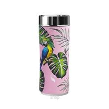 SWANZ 360ml Macaw Crown Collection Porcelain Tumbler (With Strainer) - SY-025M