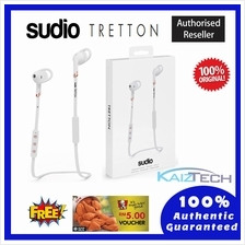 100% Original SUDIO Tretton APTX In Ear Wireless Headphone - White