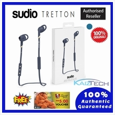 100% Original SUDIO Tretton APTX In Ear Wireless Headphone - Blue