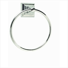 [From USA]Amerock BH26511-PN Markham Collection Towel Ring Polished Nickel (Po