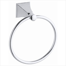 [From USA]KOHLER K-487-CP Memoirs Towel Ring with Stately Design Polished Chro