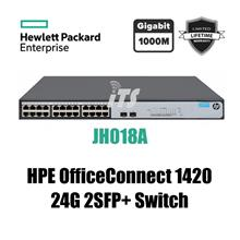 HP OfficeConnect 1420 24G 2SFP+ Switch (JH018A)