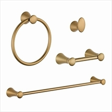 [From USA]Delta KA-LAH-4-CZ Lahara 4-Piece Accessory Kit Champagne Bronze