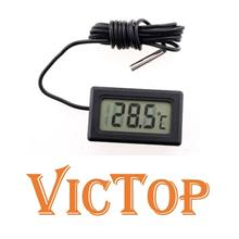 LCD Display Electronic Digital Thermometer Aquarium Fish Tank Car