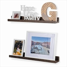 [From USA]Rustic State Ted Wall Mount Narrow Picture Ledge Shelf Display | 24