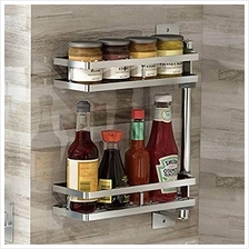 [From USA]Odstore Corner Shelves Rack Space Saving Spice Holder Rack Wall-Moun