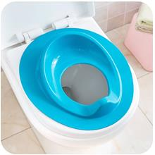 (Ready Stock) Blue Potty Training Toilet Seat Portable Trainer Chair