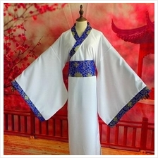 Women Woman Man Chinese Traditional Old Dress Uniform Costume
