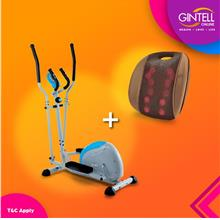 GINTELL Elliptical Bike FT235 (Showroom Unit)+G Resto Massager)