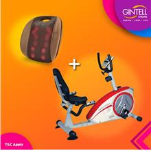 GINTELL Recumbent Bike KLJ8601R (Showroom Unit)+G Resto )
