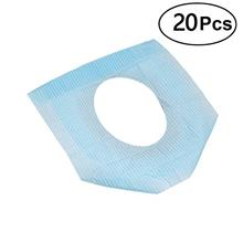 [From USA]ROSENICE 20PCS Disposable Pocket Size Paper Toilet Seat Covers for T