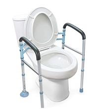 [From USA]OasisSpace Stand Alone Toilet Safety Rail - Heavy Duty Medical Toile