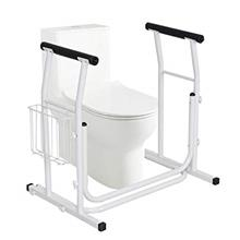 [From USA]COSTWAY Medical Bathroom Toilet Rail Grab Bar and Commode Safety Fra