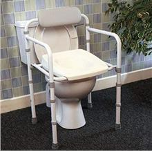 [From USA]Homecraft Uni-Frame Folding Toilet Frame with Seat Foldaway Toilet S