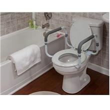 [From USA]Lumex Adjustable Toilet Safety Rails with Excellent Grip and Univers