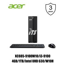 Acer Aspire XC885-9100W10 PC (i5-9100/4GB/1TB/W10H)