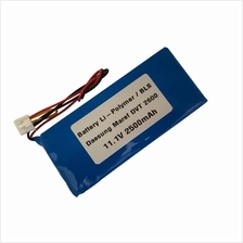 Li-Polymer Battery for Daesung Maref DVT 2600 11.1V 2500mAh