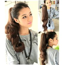 Pony tail clip wig extension 55cm O11/ ready stock/ rambut palsu
