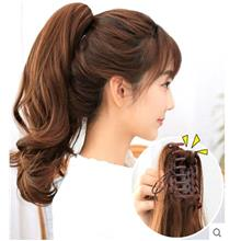Pony tail clip wig extension 40cm za8/ ready stock/ rambut palsu