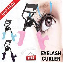 Eyelash Curler & Fake Eyelash Clip Beauty Tool Kit Pelentik Bulu Mata
