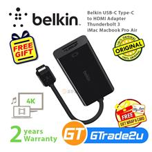 Belkin USB-C Type-C to HDMI Adapter Thunderbolt 3 iMac Macbook Pro Air