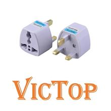 Universal UK 3 Pin Plug Travel Adapter